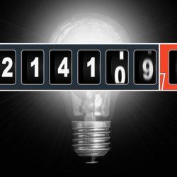 Index van een energiemeter