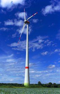 Windenergie is net als zonne-energie een duurzame energiebron.