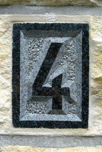 Nummer van een huis