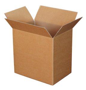 Kartonnen verplaatsen