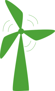 Groene leveranciers investeren vooral in de bouw van windturbines.